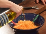 Салата от моркови с цедено мляко и розмарин 2