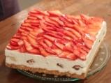 Еклерова торта с ягоди 12