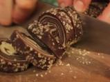 Шарени бисквити с какао и ванилия  8