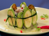 Пролетна оризова салата