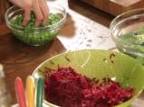 Пълнени пилешки рула с цветна салата 6