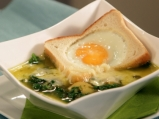Спаначена супа с шафран
