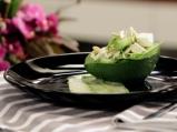 Салата от тиквички и авокадо