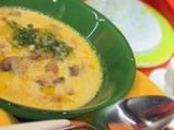Млечна супа с печурки