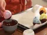 Шоколадови яйца с крем