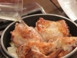 Заешка яхния със зелен фасул и чесън 4