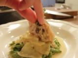 Заешка яхния със зелен фасул и чесън 6