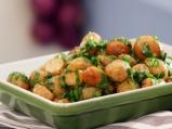 Пресни картофи с патешка мас на фурна