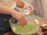 Зелено-оранжева крем супа 4