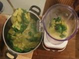 Студена крем супа от тиквички с кисело мляко 3