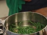 Паста със зелен фасул