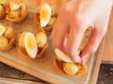 Салата от картофи, яйца и бекон 6