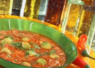 Подлучена супа с авокадо