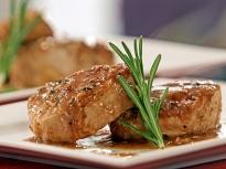 Свински пържоли с балсамов оцет