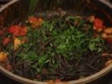 Черни спагети с миди 8