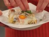 Печени яйца с тиквички и кашкавал 6