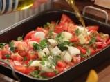 Свинско с чушки и домати на фурна 2