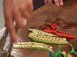 Салата с орзо и печени зеленчуци 3