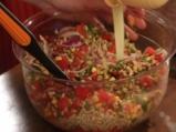 Лятна салата с жито и царевица  5
