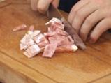 Пенне ригате с бекон и праз на фурна 2