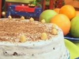 Лешникова торта с кафе