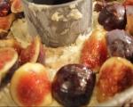 Кейк със смокини и бадеми 4