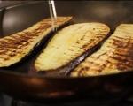 Фусили с патладжан, сирене чедър и шунка 4