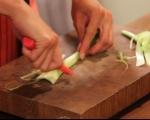 Фусили с патладжан, сирене чедър и шунка 6