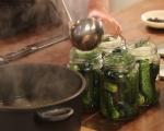 Консервирани кисели краставички 5