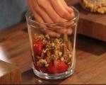 Свинско контрафиле с гъст сос от печени червени чушки