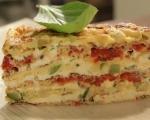 Омлетен кейк по провансалски 7