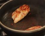 Яхния с бамя и пилешко 6
