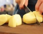 Пълнени печени чушки с яйчена заливка 5