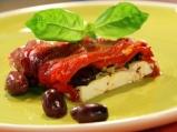 Печени чушки със сирене и маслини