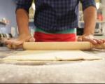 Тарт с дюли, мед и ром