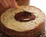 Палачинкова торта с шоколадов крем 6