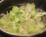 Фритата с картофи и праз