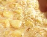 Фритата с картофи и праз 5