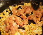 Пилешко с царевица в уок 3