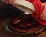 Обърнат тарт с карамелизиран праз 10