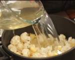 Карфиолена супа с горчичени крутони 2
