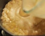 Карфиолена супа с горчичени крутони 3