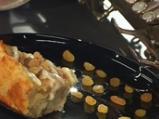 Хлебен пудинг с бърбън сос