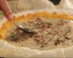 Царевичен тарт с гъби и люти чушки 7