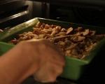 Хлебен пудинг с ябълки и ром  6