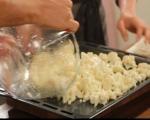 Салата от печен карфиол с маслини 3