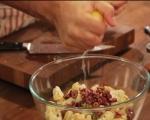 Салата от печен карфиол с маслини 4