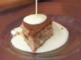 Кейк с ананас, орехи и крем от ром 7