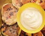 Американски палачинки с горски плодове 5