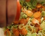 Рибени бухтички със зеленчуци и сметанов сос 2
